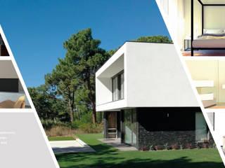 Casas modernas de MTR2 - Arquitectura Design Engenharia Moderno