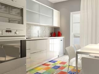 MİMAR TUĞBA ÖZKILIÇ – Narlıdere Konut Projesi:  tarz Mutfak üniteleri