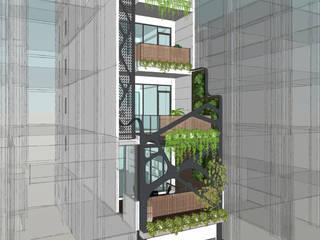 モダンな商業空間 の 台中室內建築師|利程室內外裝飾 LICHENG モダン