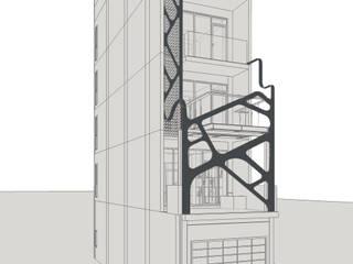 台中室內建築師|利程室內外裝飾 LICHENG Spazi commerciali moderni