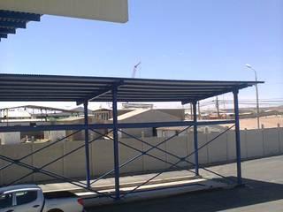 PLANTA DE REVISION TECNICA CALAMA: Garages de estilo  por VASGO