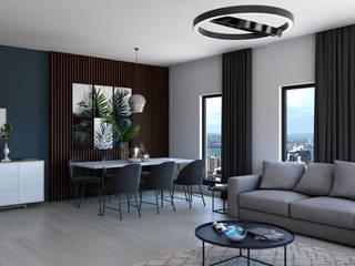 Dündar Design - Mimari Görselleştirme Soggiorno moderno