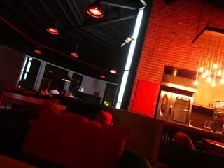 AQUA CAFE&RESTAURANT Rustik Bar & Kulüpler Kargaraj İç Mimarlık Tasarım Atelyesi Rustik
