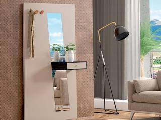 Decordesign Interiores Corridor, hallway & stairsClothes hooks & stands