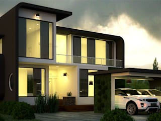 Monnaie Interiors Pvt Ltd Single family home