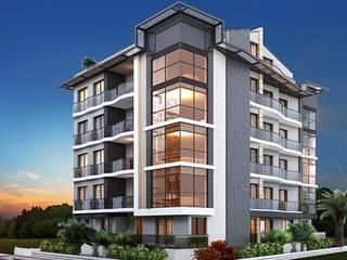 Dự án biệt thự phố 5 tầng Bà Lan – Thái Nguyên bởi Biet Thu Pho Dep