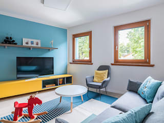 Livings de estilo escandinavo de Facile Ristrutturare Escandinavo