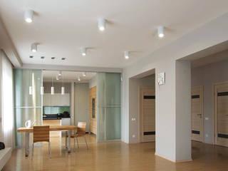 Современный минимализм Столовая комната в стиле минимализм от anydesign Минимализм
