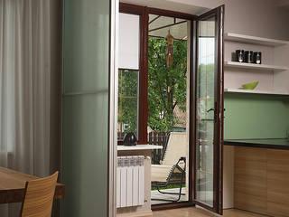 Современный минимализм Кухня в стиле минимализм от anydesign Минимализм