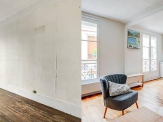 Restructuration totale d'un appartement à Paris 75010 :  de style  par Archionline