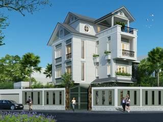 Dự án biệt nhà vườn 4 tầng anh Mỹ(Vũng Tàu):   by Biet Thu Nha Vuon