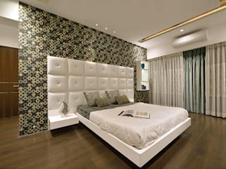 Kannur Bedroom Modern style bedroom by i17 Design Studio Modern