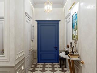 Квартира с видом на речку : Коридор и прихожая в . Автор – Студия дизайна интерьера 'Lam Interiors'