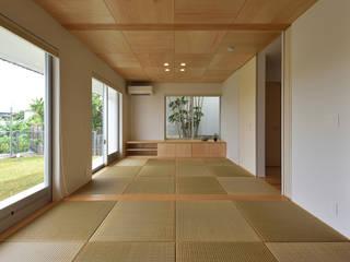 1F 和室: 株式会社クレールアーキラボが手掛けた和室です。,