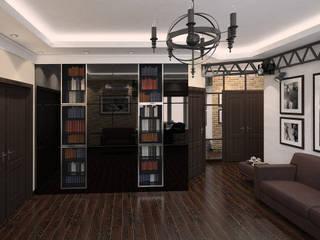 Лофт на Серпуховской: Гостиная в . Автор – Студия Интерьеров Екатерины Розовой