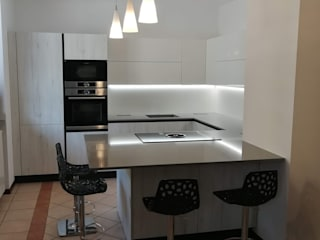 Formarredo Due design 1967 Dapur Modern White