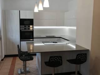 Formarredo Due design 1967 現代廚房設計點子、靈感&圖片 White