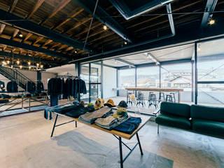 TCB JEANS : ELD INTERIOR PRODUCTSが手掛けたオフィススペース&店です。