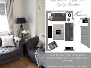 Lounge:  Living room by Ka Interiors