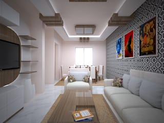 Living Area Design: classic  by Vinra Interiors,Classic