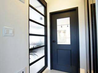 DESIGNCOLORS Modern corridor, hallway & stairs Turquoise