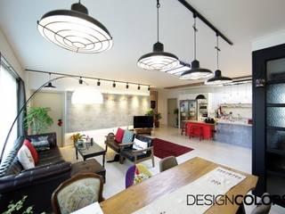 DESIGNCOLORS Modern living room Grey