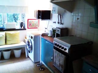 Cozinha- Antes:   por Espaços Renovados