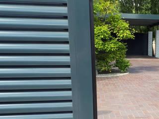 Modern garage/shed by Schmiedekunstwerk GmbH Modern