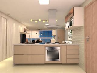 Cozinha gourmet: Cozinhas  por Mais Arquitetura Paraíba