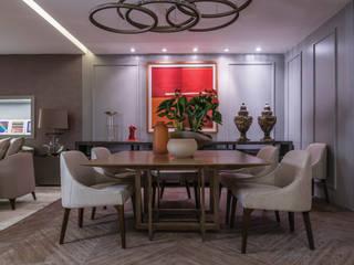 Elaine Ramos | Arquitetos Associados Classic style dining room