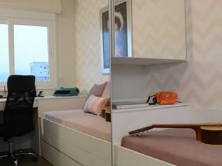 Ruang Studi/Kantor Minimalis Oleh arquiteta aclaene de mello Minimalis