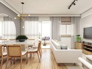 Ruang Makan Modern Oleh Studio M Arquitetura Modern