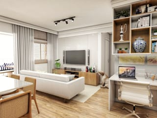 Modern living room by Studio M Arquitetura Modern