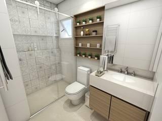 Baños de estilo clásico de Studio M Arquitetura Clásico
