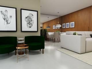 Salones modernos de Studio M Arquitetura Moderno