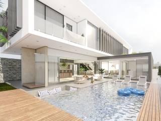 Casas modernas de Studio M Arquitetura Moderno