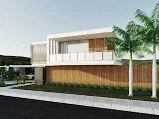 RESIDENCIAL FG: Casas  por Studio M Arquitetura,