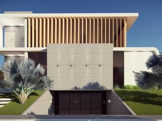 Revestimentos! : Casas  por Vortice Arquitetura