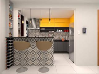 Cozinha: Cozinhas  por Mais Arquitetura Paraíba