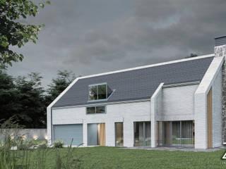 TypNowy+: styl , w kategorii Domy zaprojektowany przez ZA-ARCHITEKT