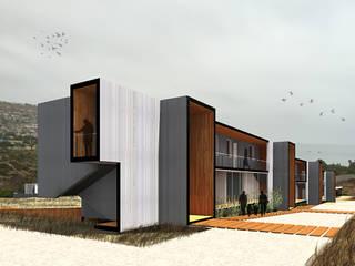 Бунгало в . Автор – Crescente Böhme Arquitectos, Модерн