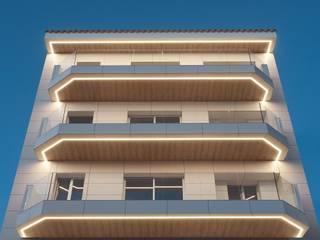 Mar de Fondo: Casas de estilo  de Minimal Studio