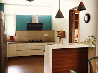 Kitchen units by Crafted Spaces, Minimalist