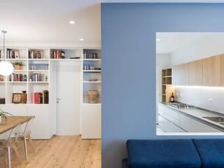 Minimalistische Wohnzimmer von Grippo + Murzi Architetti Minimalistisch