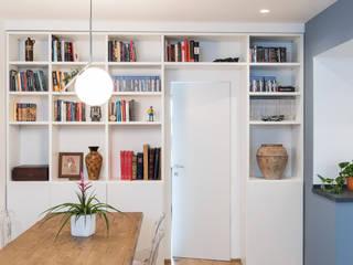 Grippo + Murzi Architetti Minimalist living room