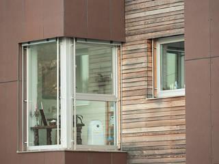FG FALSONE uPVC windows Wood-Plastic Composite Multicolored
