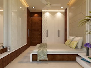 غرفة نوم تنفيذ n design studio