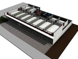 Plaza Zafiro: Centros Comerciales de estilo  por Facere Arquitectura