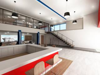 Procesa Cancún: Edificios de Oficinas de estilo  por Facere Arquitectura
