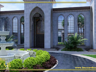 حدائق فلل من Bazzar Design